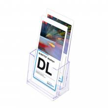 Portafolletos doble transparente (1/3 de A4)