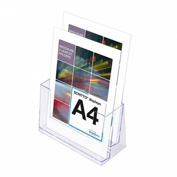 Portafolletos doble  Mostrador/Pared (A4)