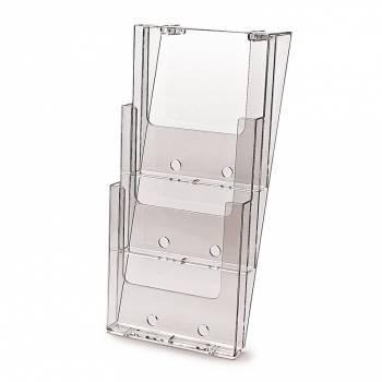 Portafolletos triple espacio Pared (A4)