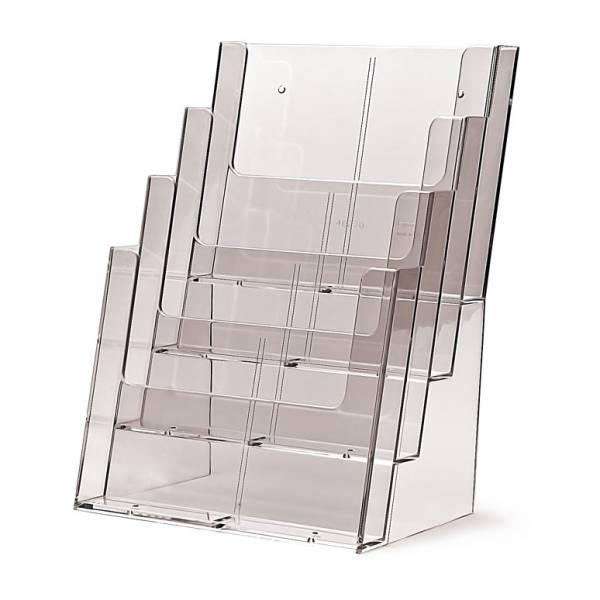 Portafolletos 4 espacios Mostrador/Pared (A4)