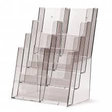 Portafolletos 4 espacios sobremesa (A4 y 1/3 A4)