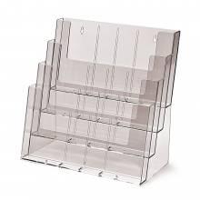 Portafolletos 4 espacios multiformato sobremesa / pared (A4,1/3 A4, A5)