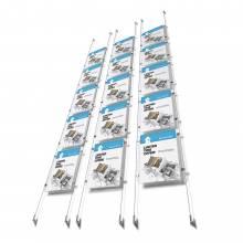 Kit de 5 carpetas A4 para sistema e-clip