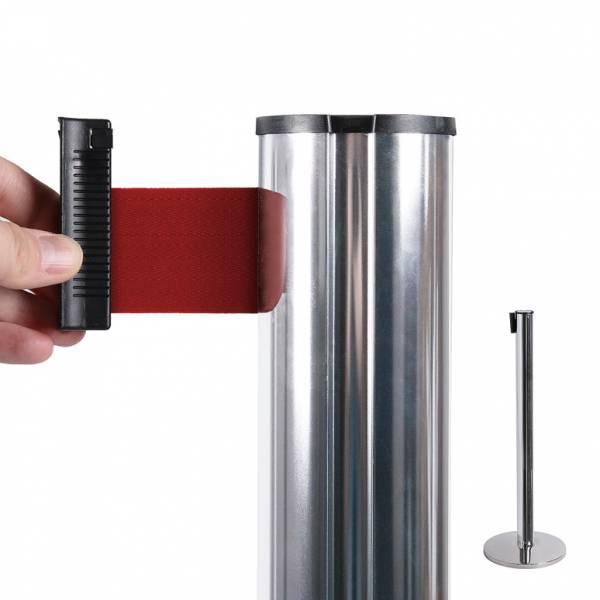 Poste separador con cinta extensible (cinta roja)