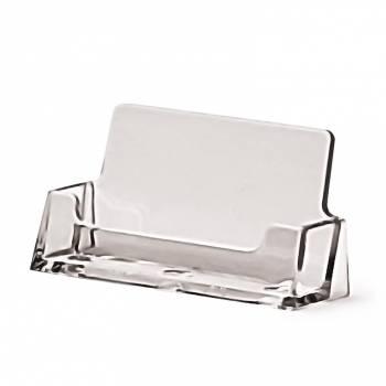 Porta tarjetas de sobremesa horizontal