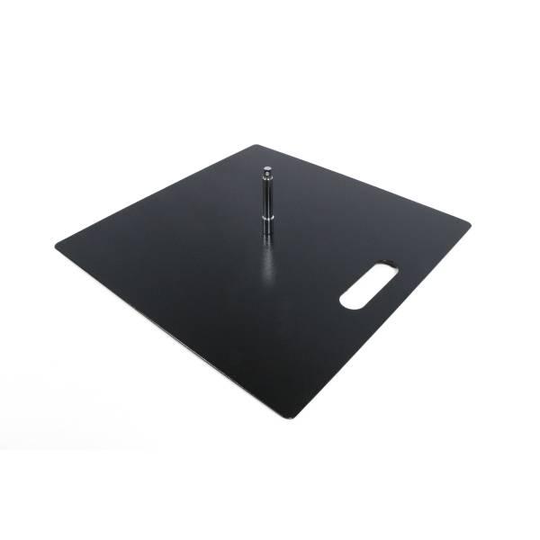 Placa de Acero Budget 12 kg Rotador 17 mm
