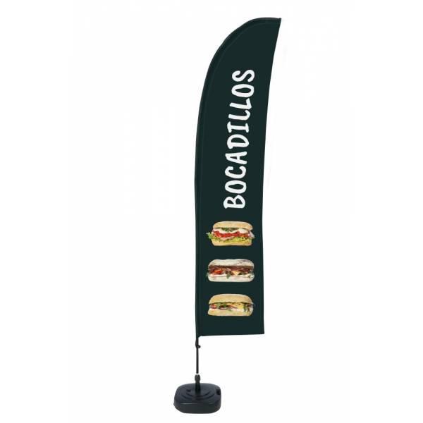 """Bandera diseño """"Bocadillos"""" (Set Completo)"""