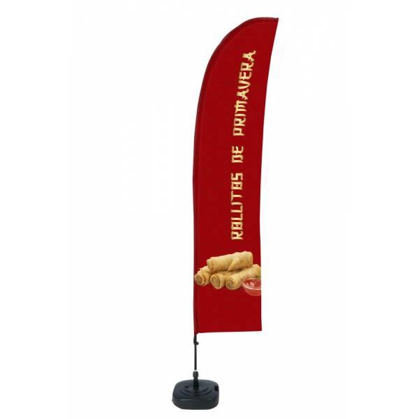 """Bandera diseño """"Rollitos de Primavera"""" (Set Completo)"""