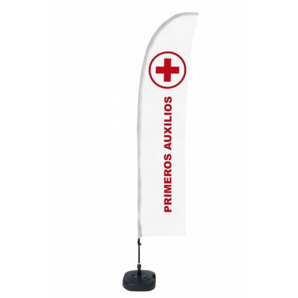 """Bandera diseño """"Primeros Auxilios"""" (Set Completo)"""