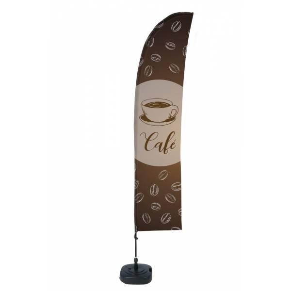 """Bandera diseño """"Café"""" (Set Completo)"""