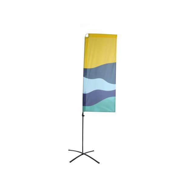 Impresión para Bandera Publicitaria Económica Square