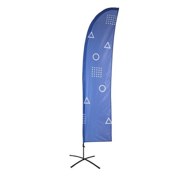 Impresión para Bandera Publicitaria Económica Vela