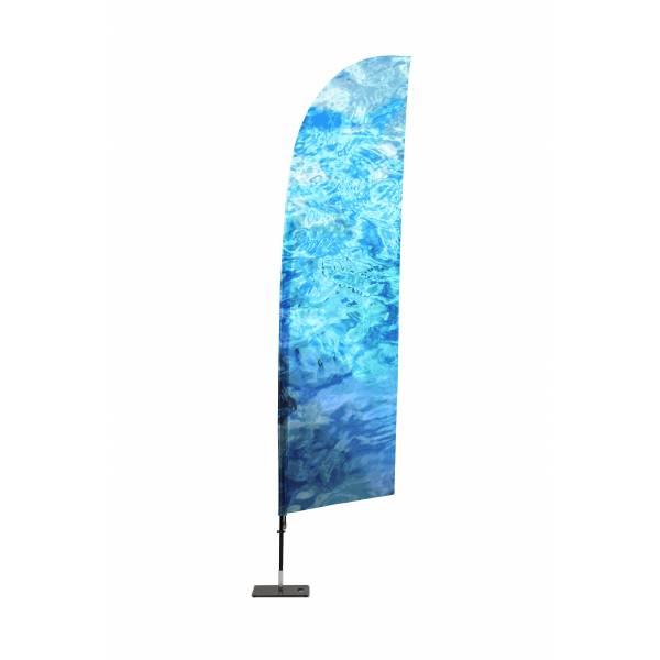 Impresión para Bandera Publicitaria de Fibra de Vidrio Tipo Vela