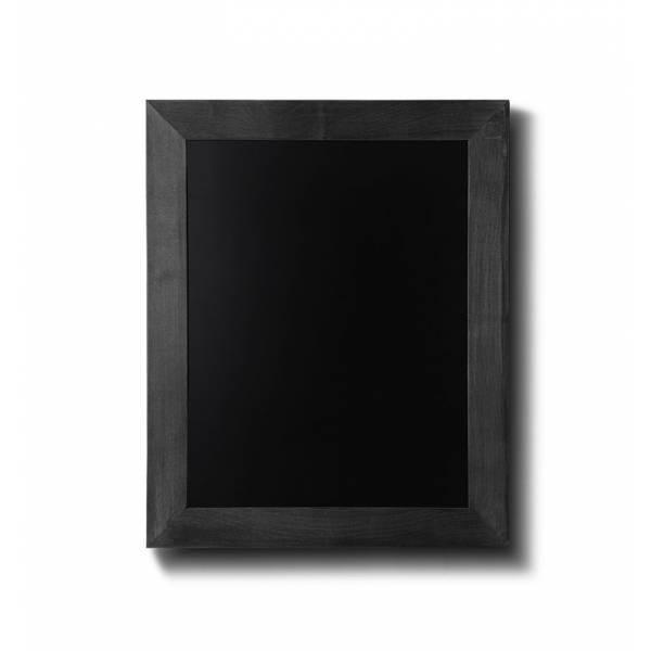Pizarra de madera color negro (30x40)