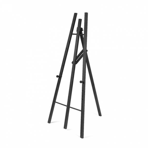 Caballetes para marcos para póster o pizarras de madera oscuro