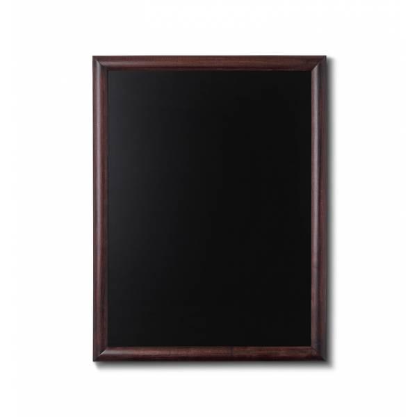 Pizarra de madera. 60 x 80, color marrón oscuro