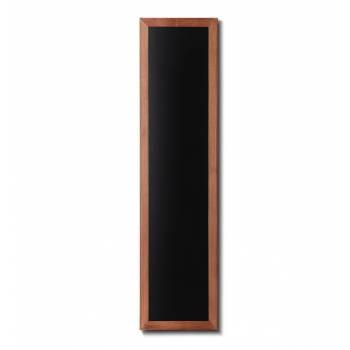 Pizarra de madera (marco profundo en negro)