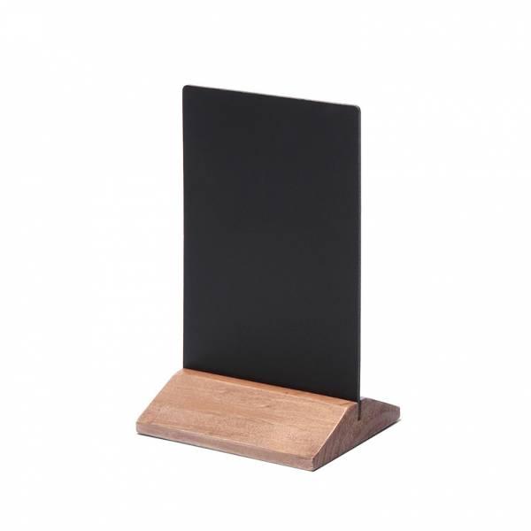Soporte de menú de madera económico marrón claro 100mm