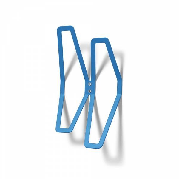 Colgador de pared de diseño Azul