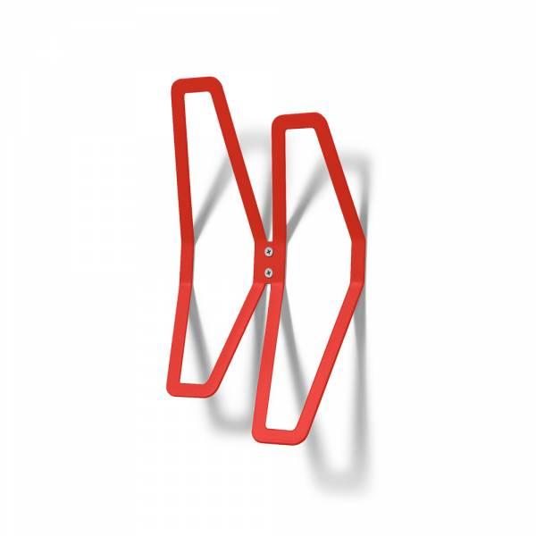 Colgador de pared de diseño Rojo