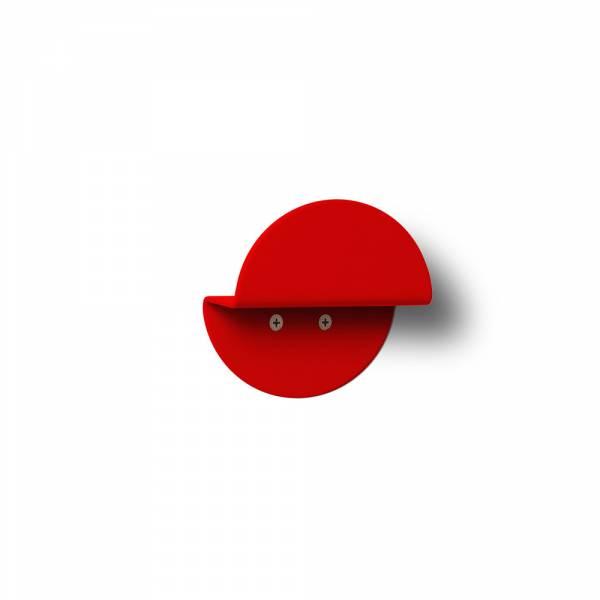 Colgador circular Rojo