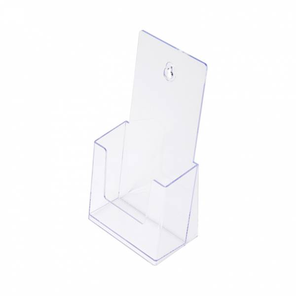 Portafolletos de sobremesa transparente (1/3 de A4)