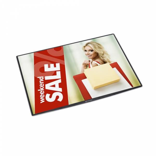 DeskWindo® Porta póster mostrador