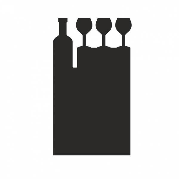 Accesorio para pizarra de mesa Vinoteca