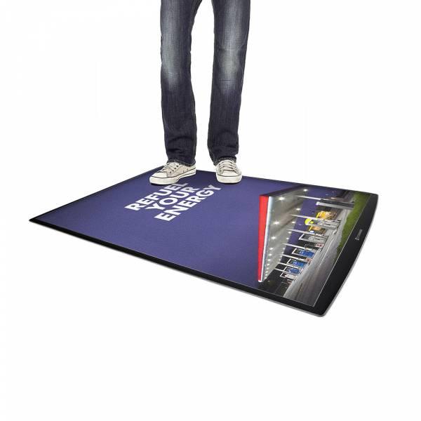 FloorWindo® Alfombra publicitaria suelo