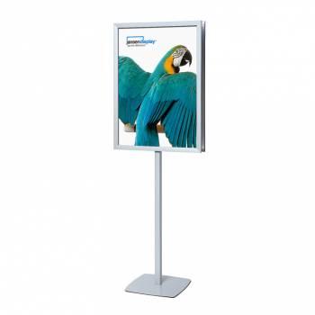 Stand info pole A1 marco 25 mm a inglete una cara