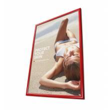 Marco para póster rojo 50x70 (25 mm)