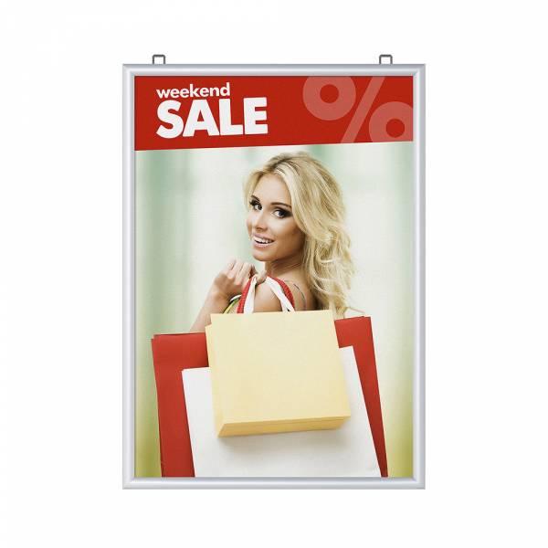 Marco para póster de doble cara A1 (25 mm)