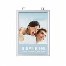 Marco para póster de doble cara A3 (25 mm)