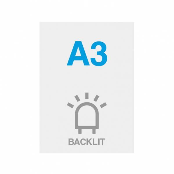 Papel Blacklit Premium 200g/m2, superficie satinada, 297x420mm