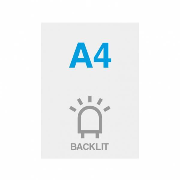 Papel Blacklit Premium 200g/m2, superficie satinada, 210x297mm