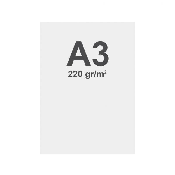 Latex de material multicapa media A3 matt, 220 g m2