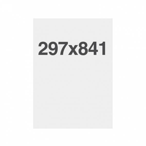 Papel de alta calidad 135g/m2, superficie satinada 4 x A4 (297 x 841 mm)