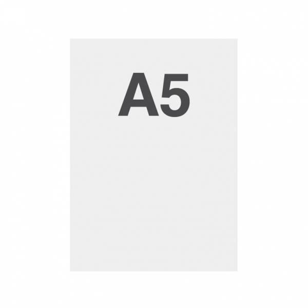 Papel de alta calidad 135g/m2, superficie satinada, A5 (148x210mm)