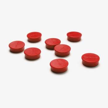 Paquete de imanes 20mm Rojo