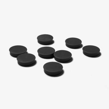 Paquete de imanes de 20mm negro