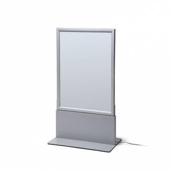 Totem con porta póster de LED Thin A1