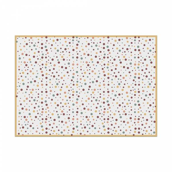 Mantel Individual Dots Color Tierra