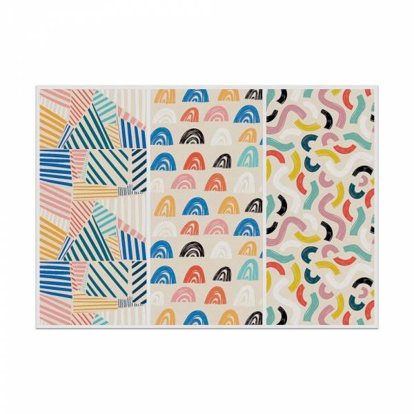 Mantel Individual Formas de Colores 1
