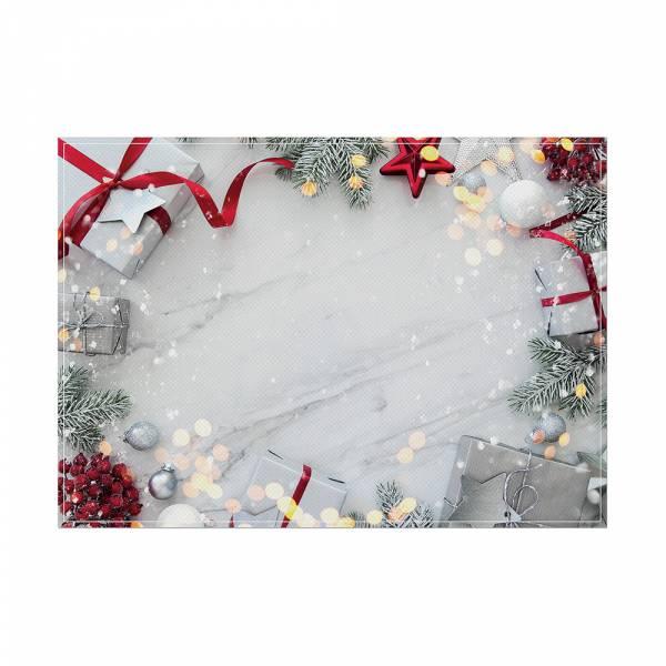 Mantel Individual Decoración de Navidad