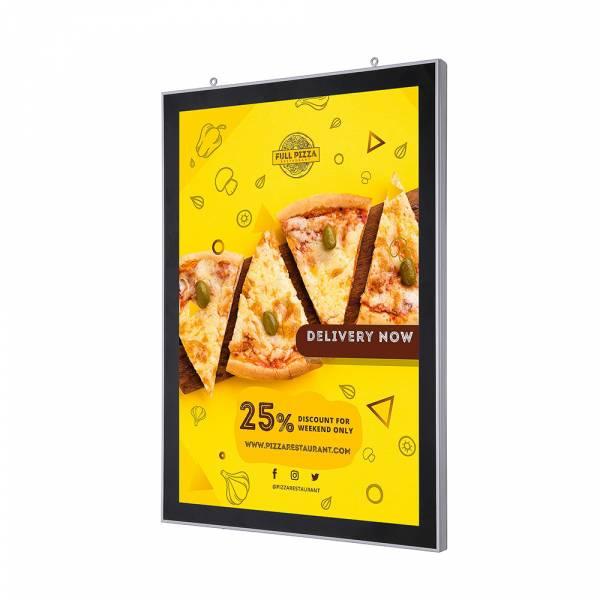 Marco póster LED magnético de doble cara (A2)