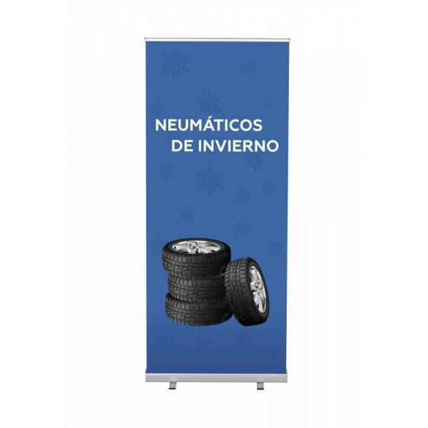 Set Completo Roller-Banner Budget 85 Neumáticos de Invierno Español