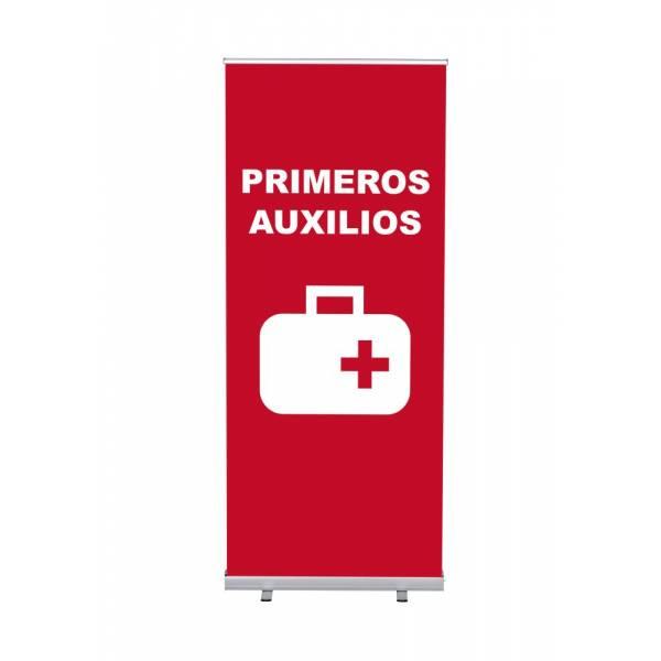 Set Completo Roller-Banner Budget 85 Primeros auxilios Español