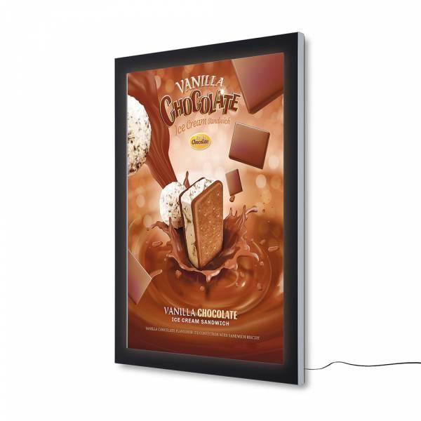 Vitrina para póster Exterior LED Premium (100x140)