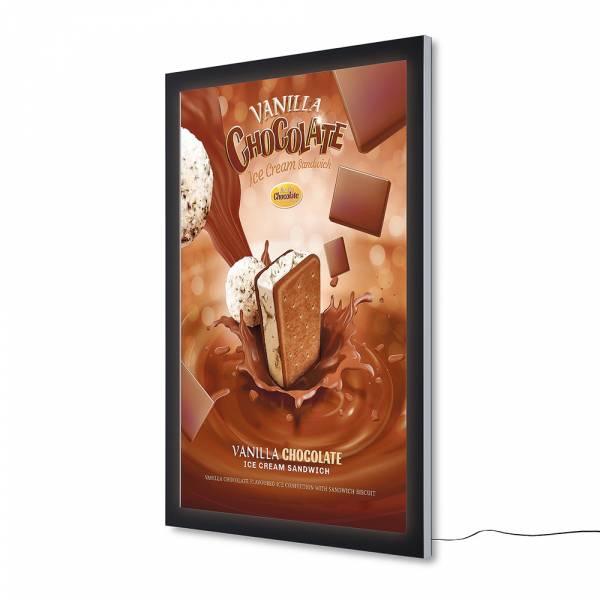 Vitrina para póster Exterior LED Premium (118,5x175)