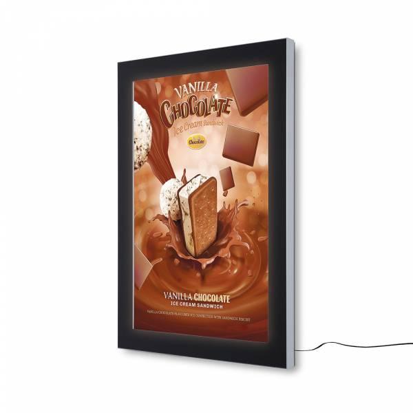 Vitrina para póster Exterior LED Premium (70x100)